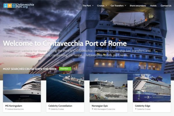 civitavecchia port website