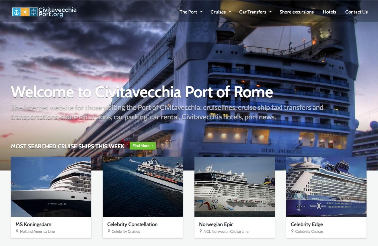 civitavecchia port website