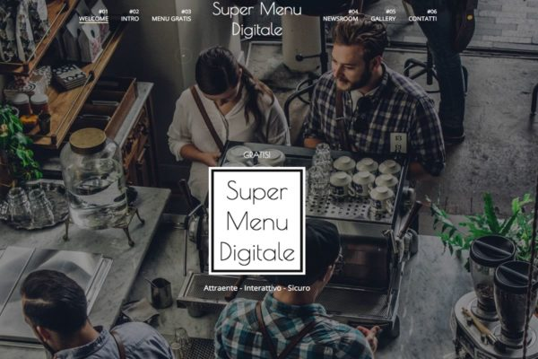 super menu digitale